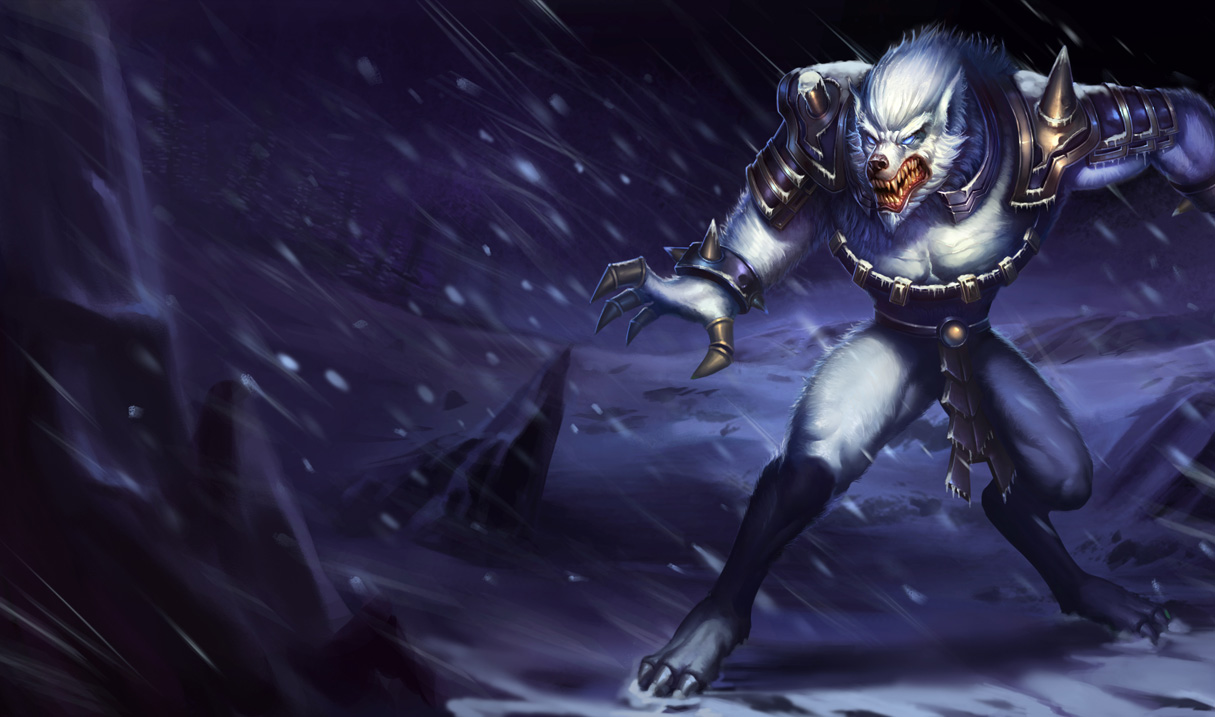League Of Legends Warwick Wolfman Free Hd Wallpapers
