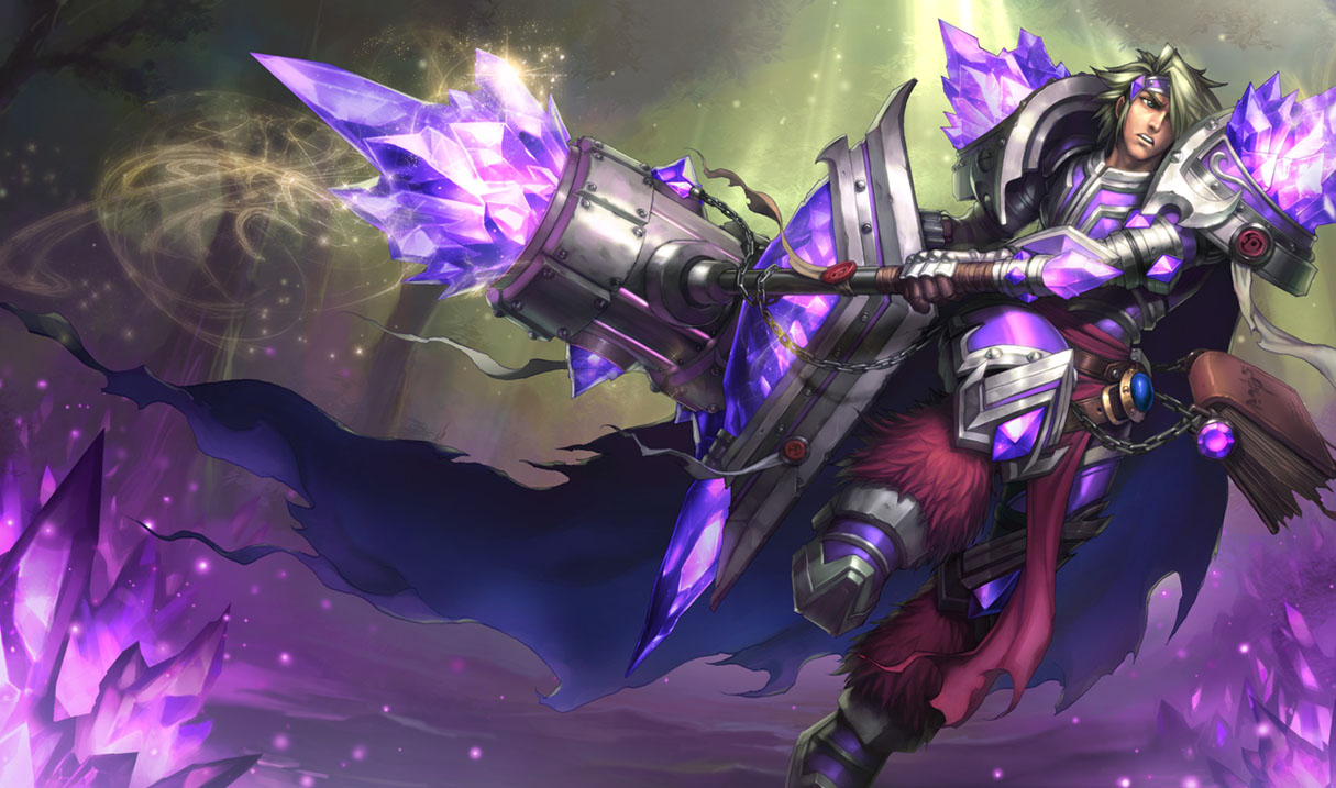 Armor of the Fifth Age Taric