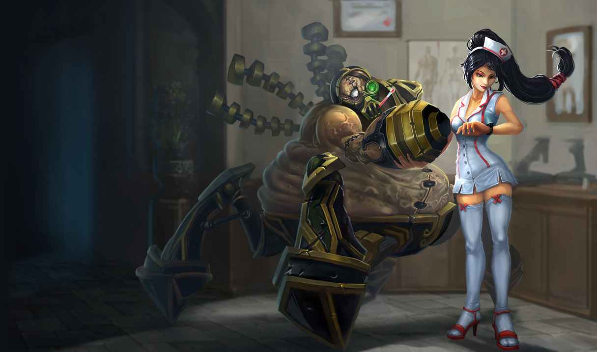 Nurse Akali and Urgot