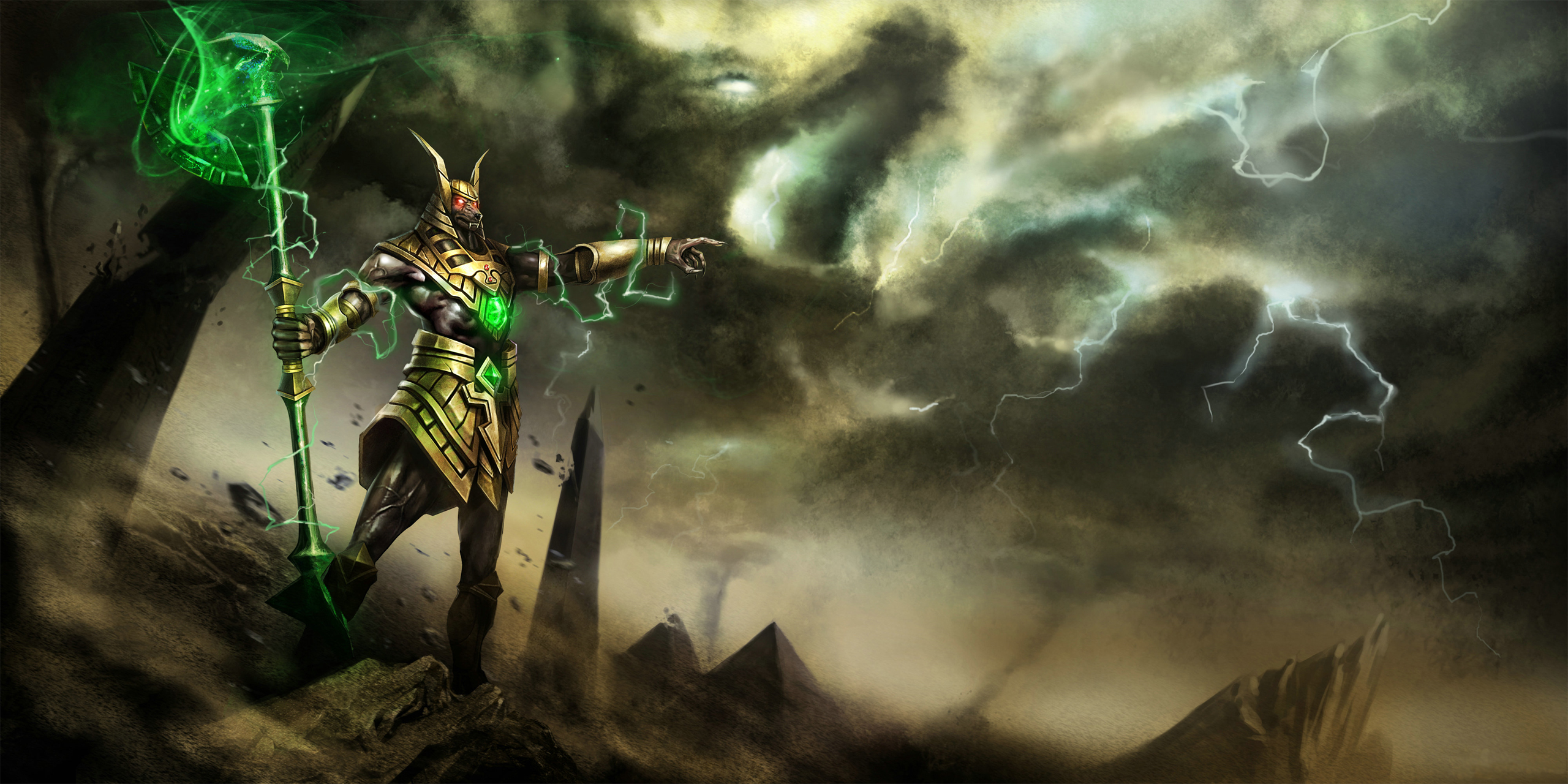 Nasus League Of Legends Wallpapers Art Of Lol