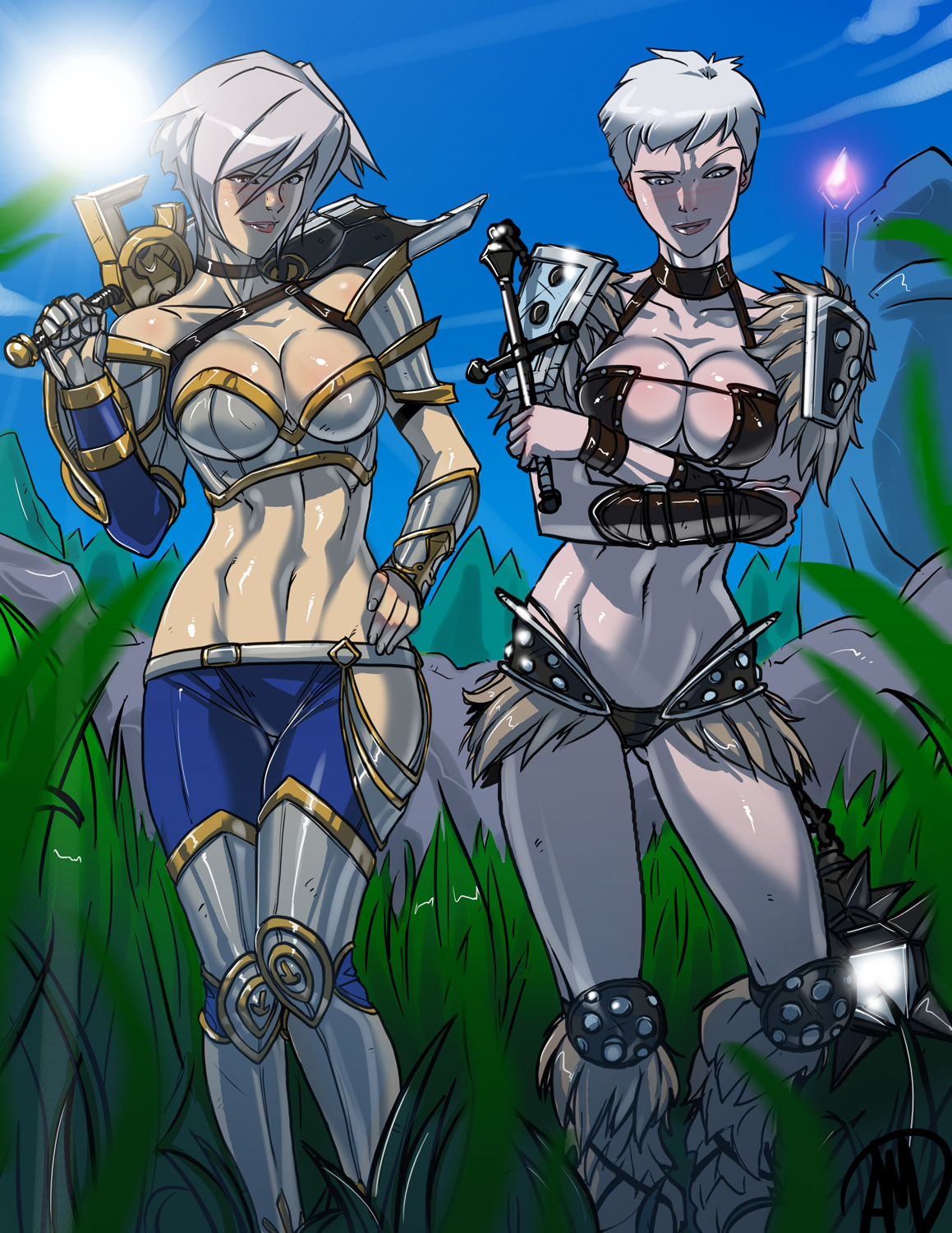 Riven and Sejuani