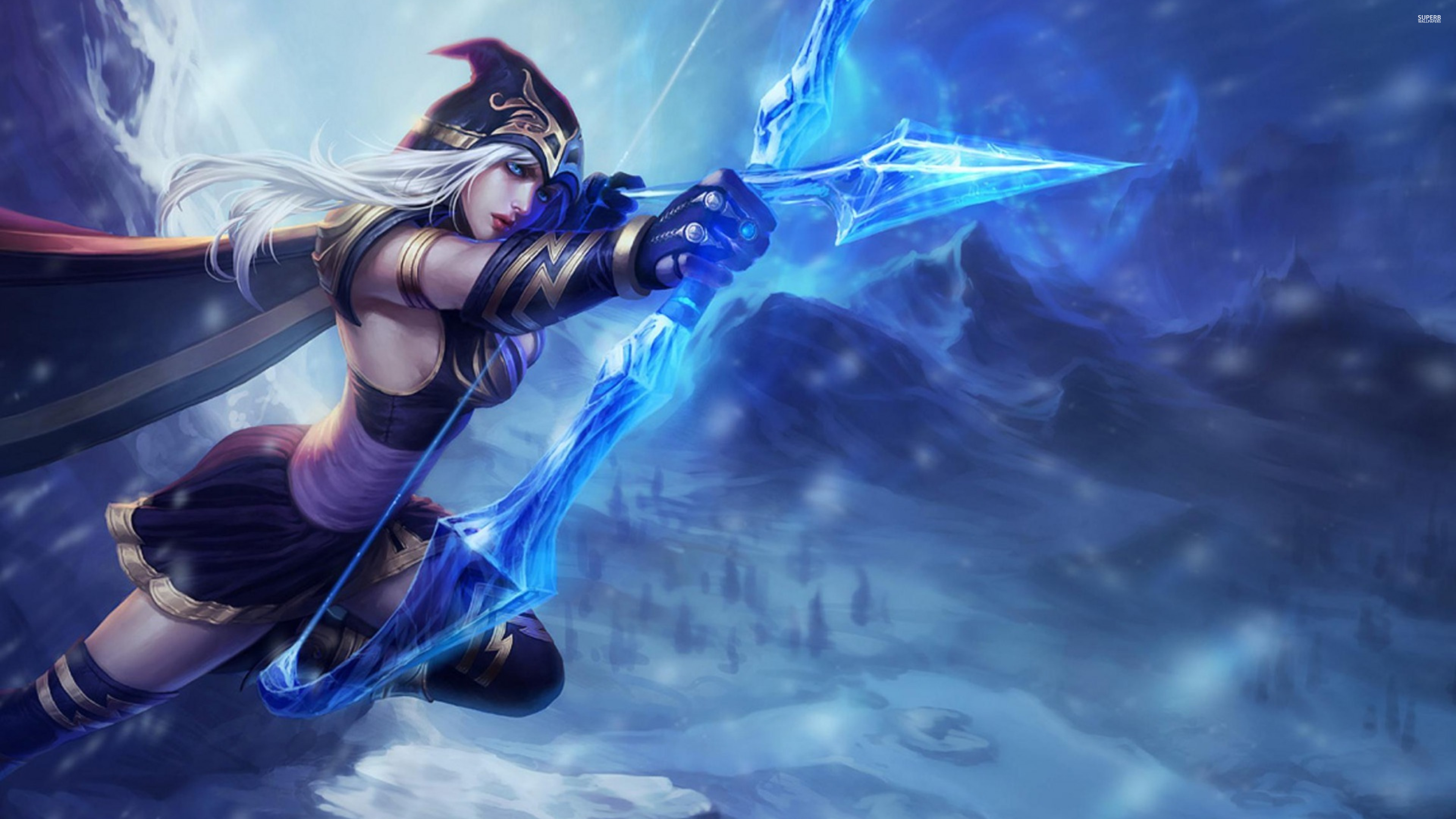 Wallpaper download miss u - Ashe League Of Legends Fan Art Art Of Lol