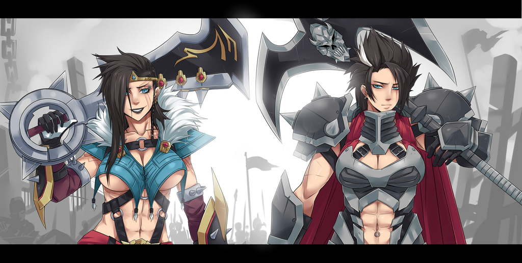 Draven and Darius?