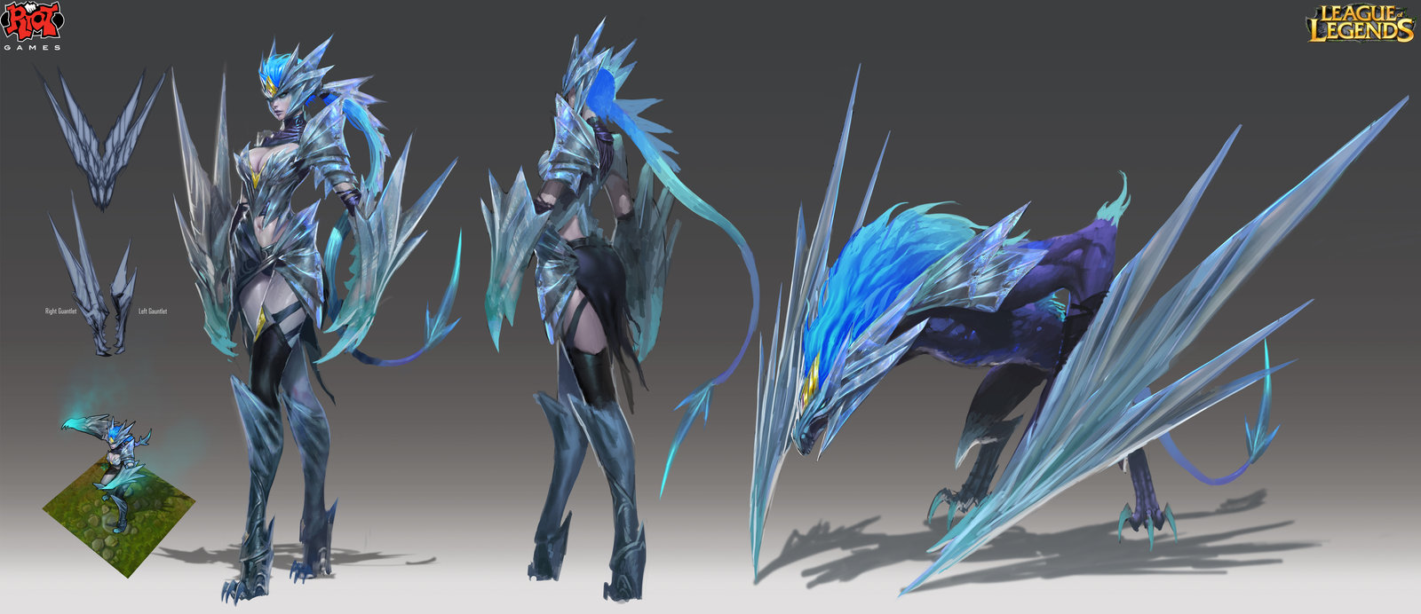 League Of Legends Shyvana | One Wallpapers