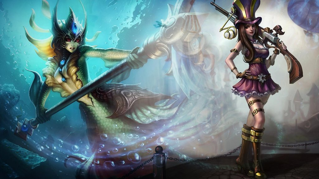 Caitlyn and Nami