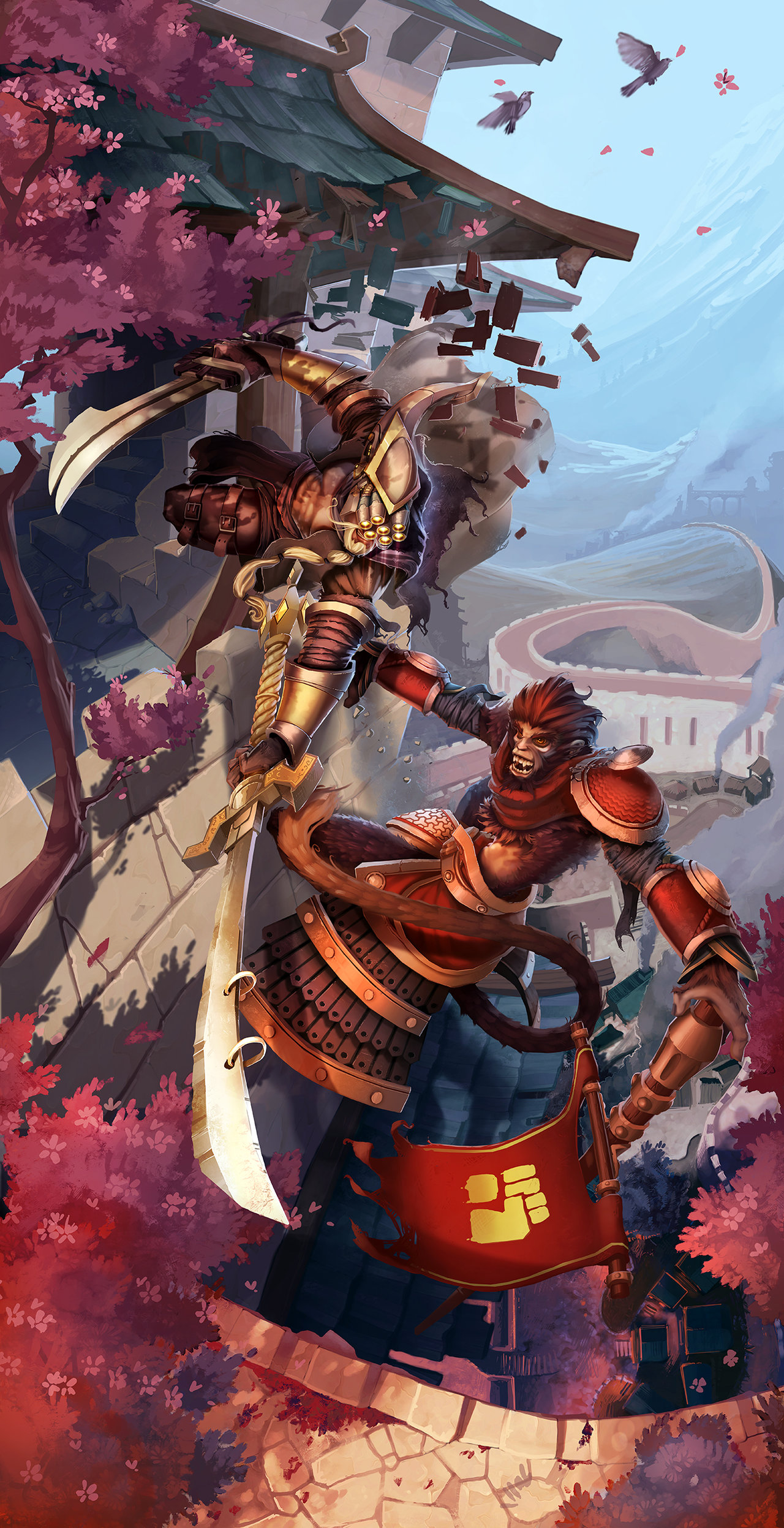 Master Yi and Wukong