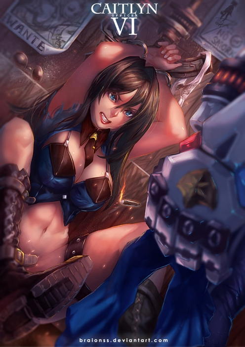 caitlyn and vi