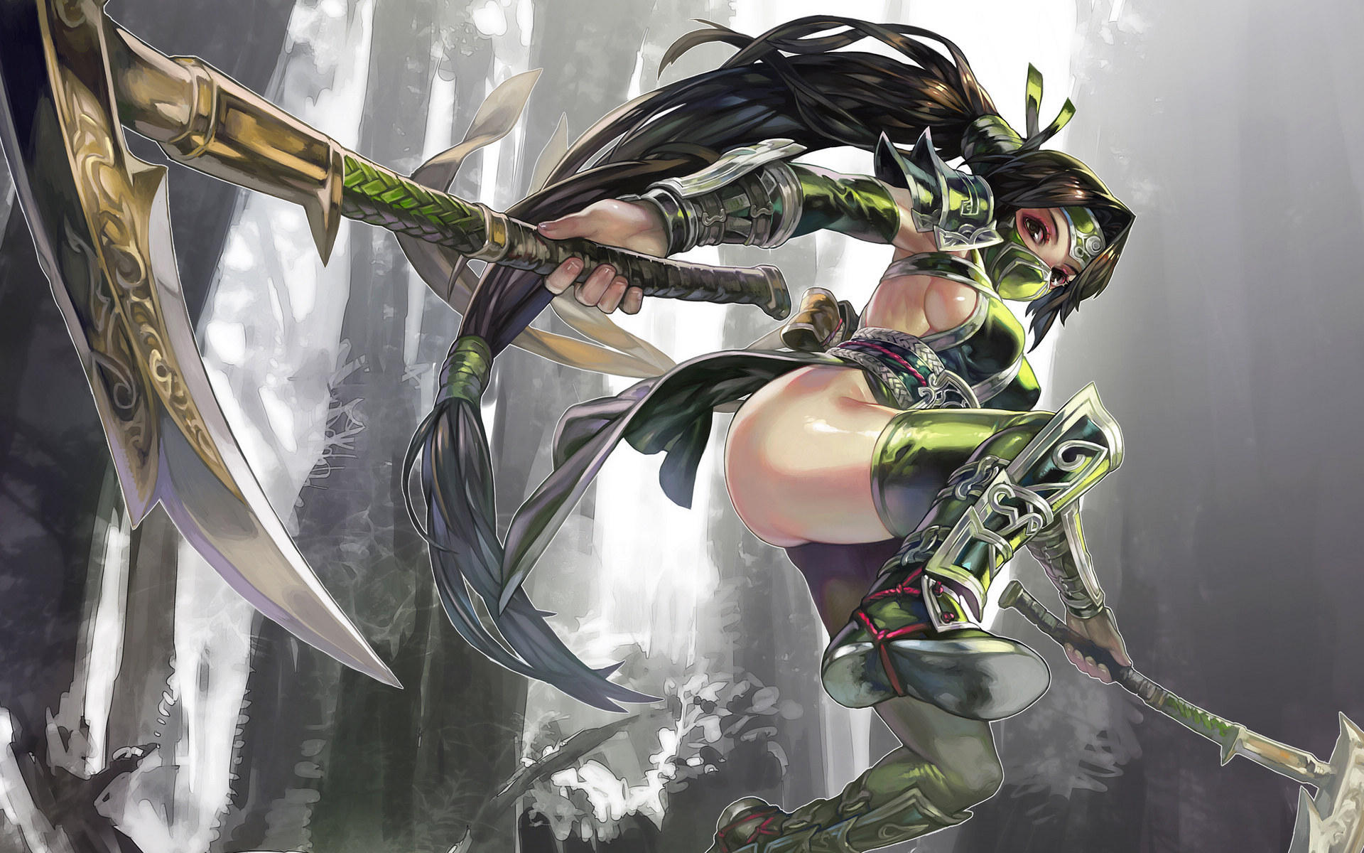Akali League Of Legends Wallpapers Art Of Lol