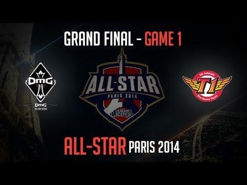 OMG vs SK Telecom T1 K | Game 1 Grand Finals All-Star 2014 | SKT T1 K vs OMG G1 – YouTube