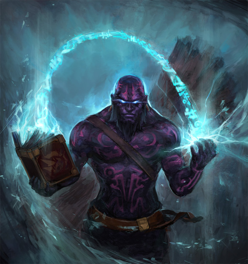 Ryze League Of Legends Fan Art