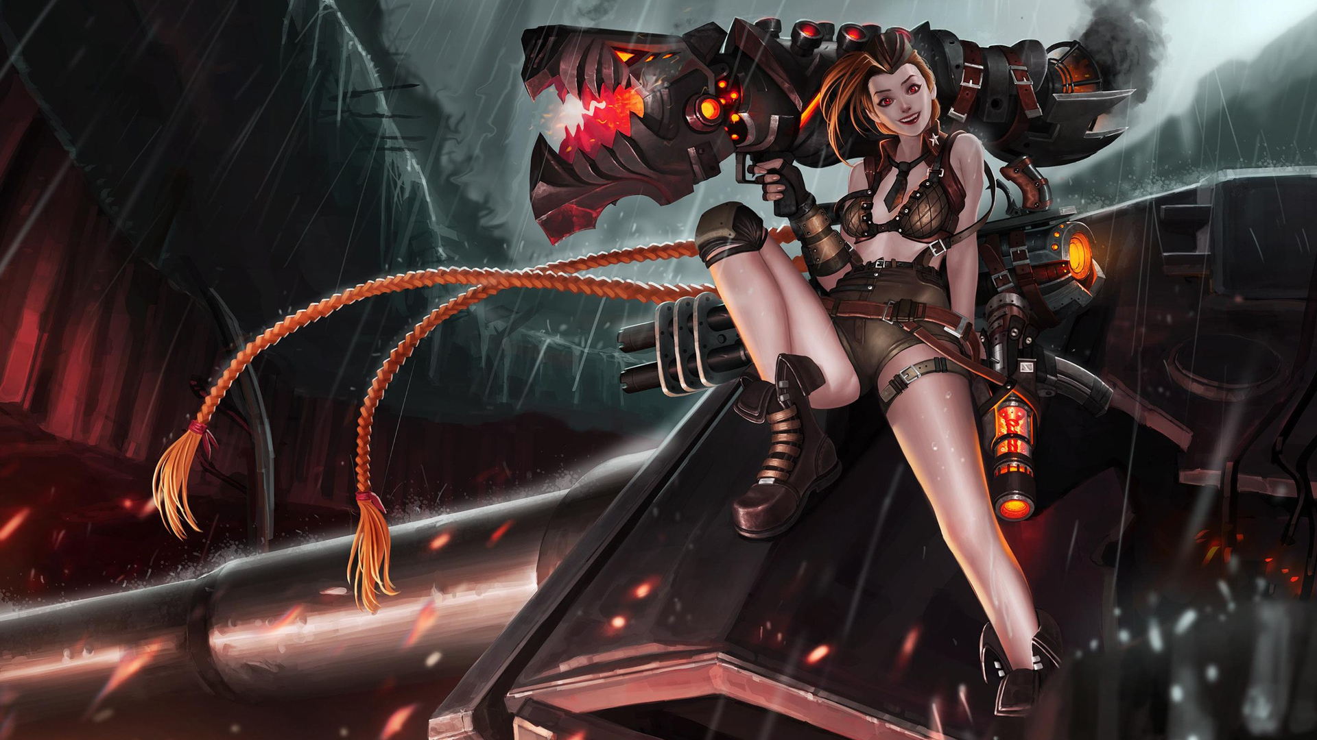 elite squad jinx league of legends wallpapers | art-of-lol