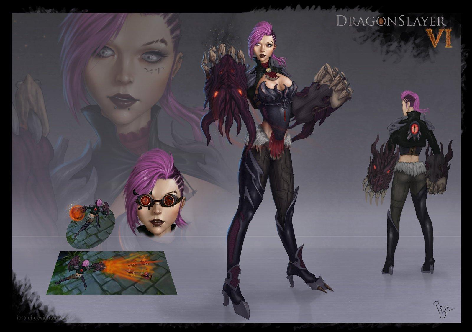 Dragonslayer Vi Concept Art