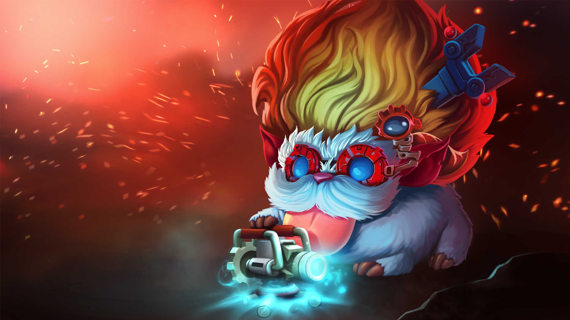 Heimerdinger Poro - Wallpapers HD