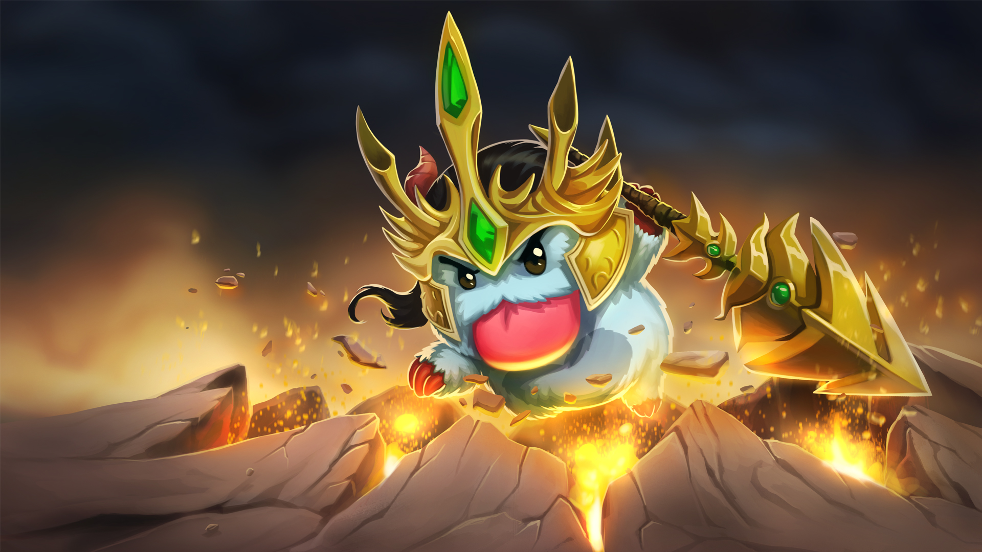 Jarvan IV Poro - Wallpapers HD