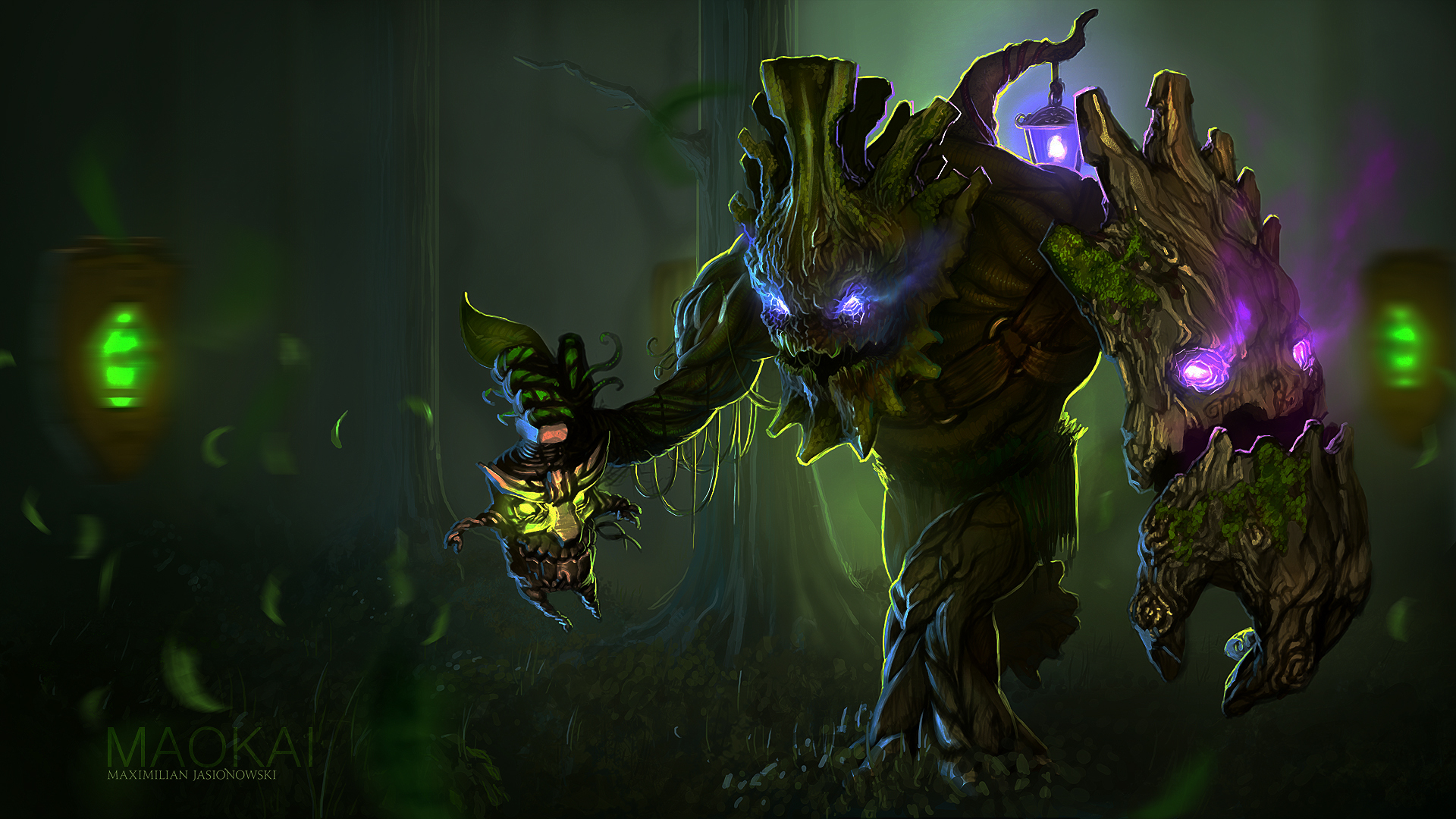Maokai Wallpaper 1920x1080