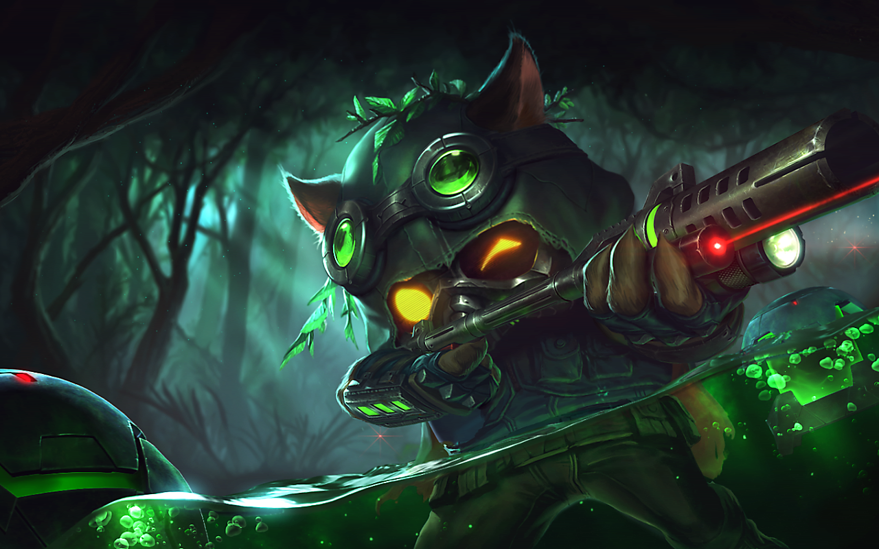 Omega Squad Teemo League Of Legends Fan Art