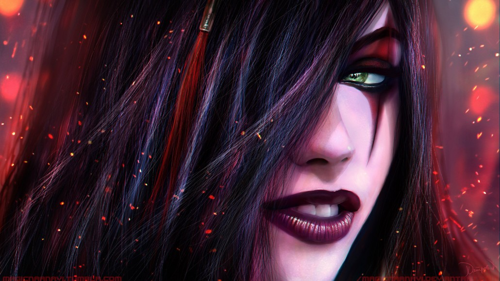 Sejuani Portrait: Warring Kingdoms Katarina Wallpaper HD League Of Legends