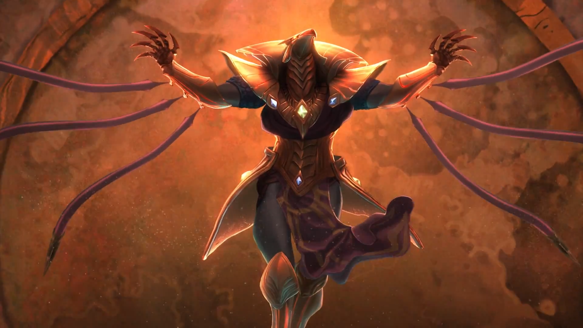 Azir League Of Legends Wallpaper HD 1920x1080