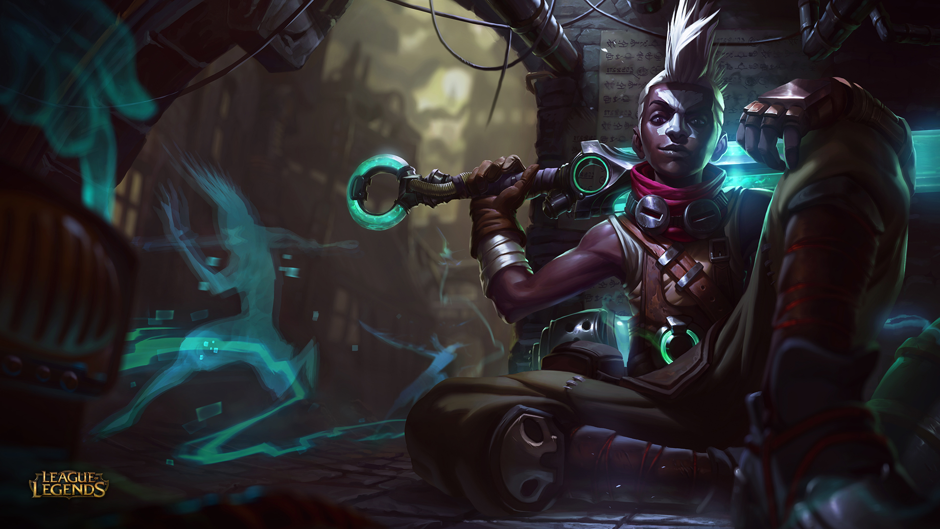 Ekko Wallpaper HD 1920x1080 League Of