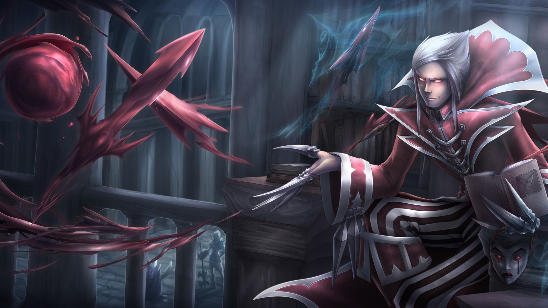 Vladimir Wallpaper Hd 1920x1080 League Of Legends