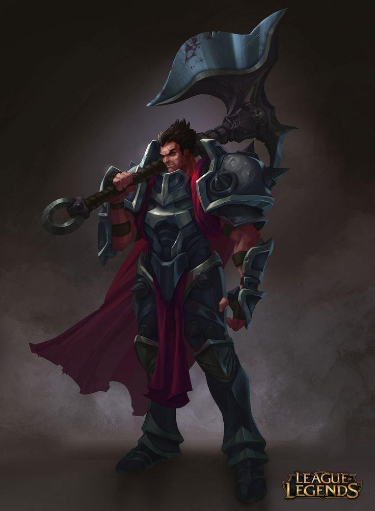 Darius League Of Legends Fan Art