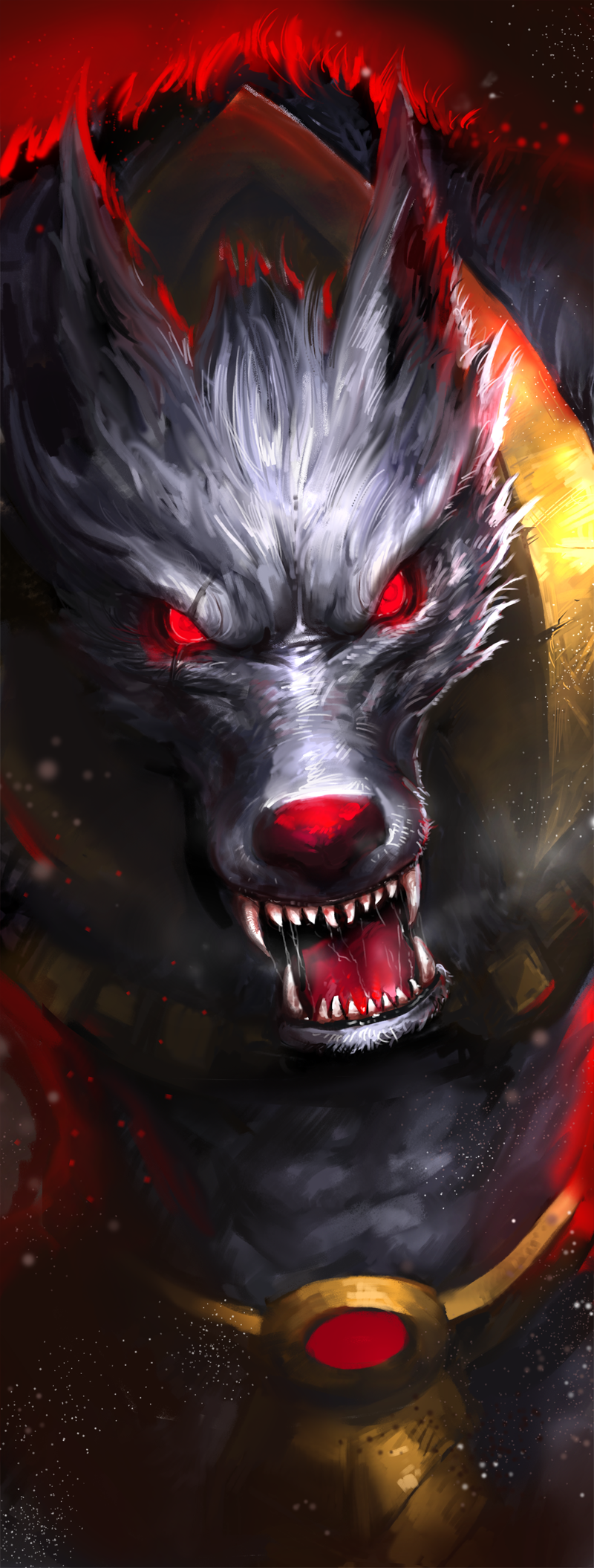 Warwick League Of Legends Fan Art