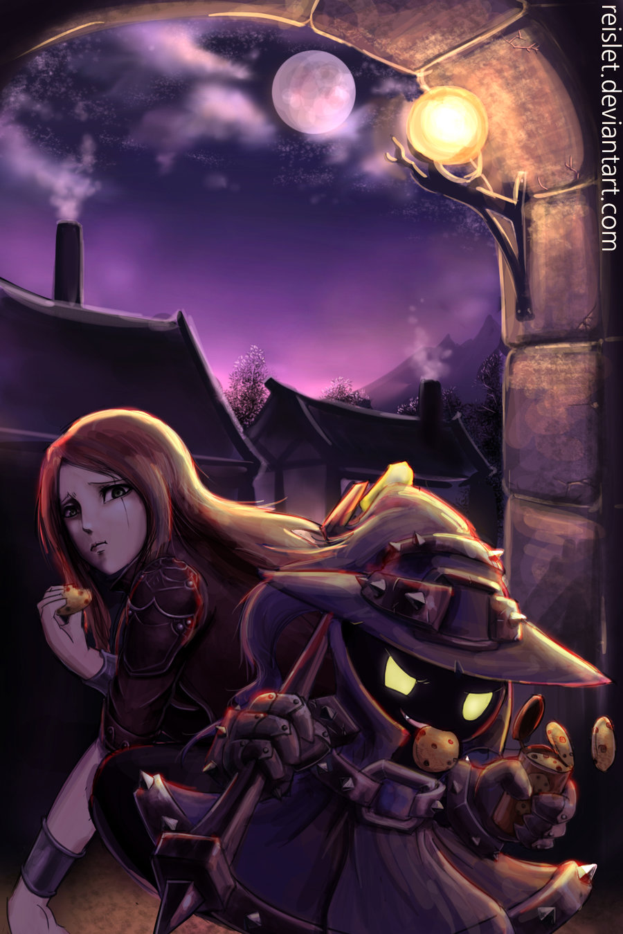 Veigar And Katarina League Of Legends League Of Legends Fan Art
