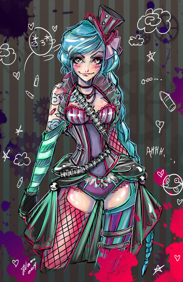 Jinx League Of Legends Fan Art League Of Legends Fan Art