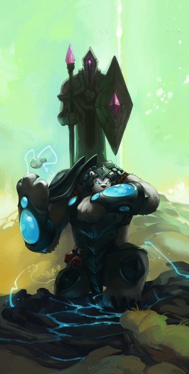 Volibear League Of Legends Fan Art 1