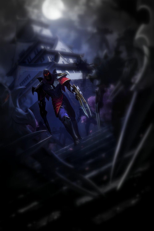 Zed League Of Legends Fan Art