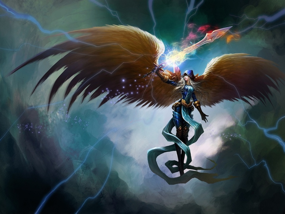 Kayle League Of Legends Fan Art
