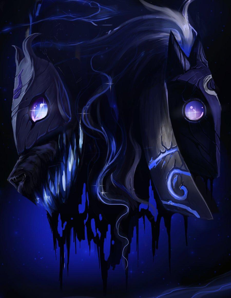 Kindred League Of Legends Fan Art