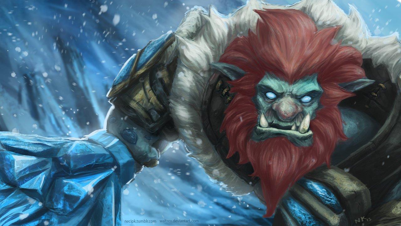 Trundle League Of Legends Fan Art 1