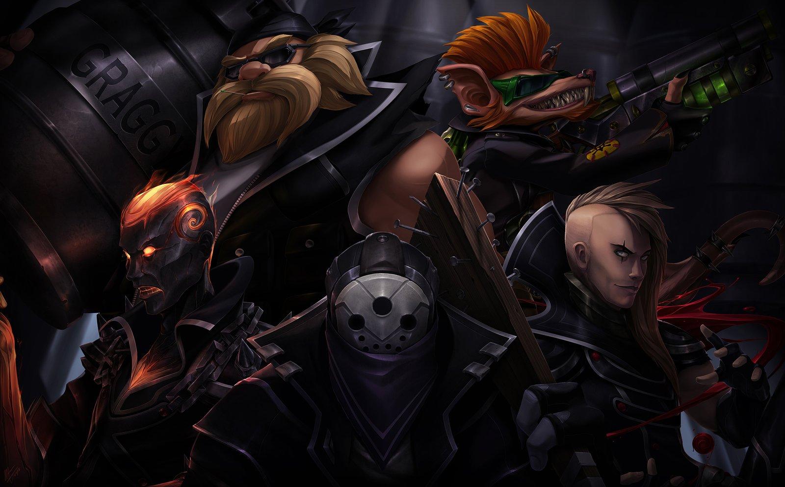 Vandal Skins League Of Legends Fan Art
