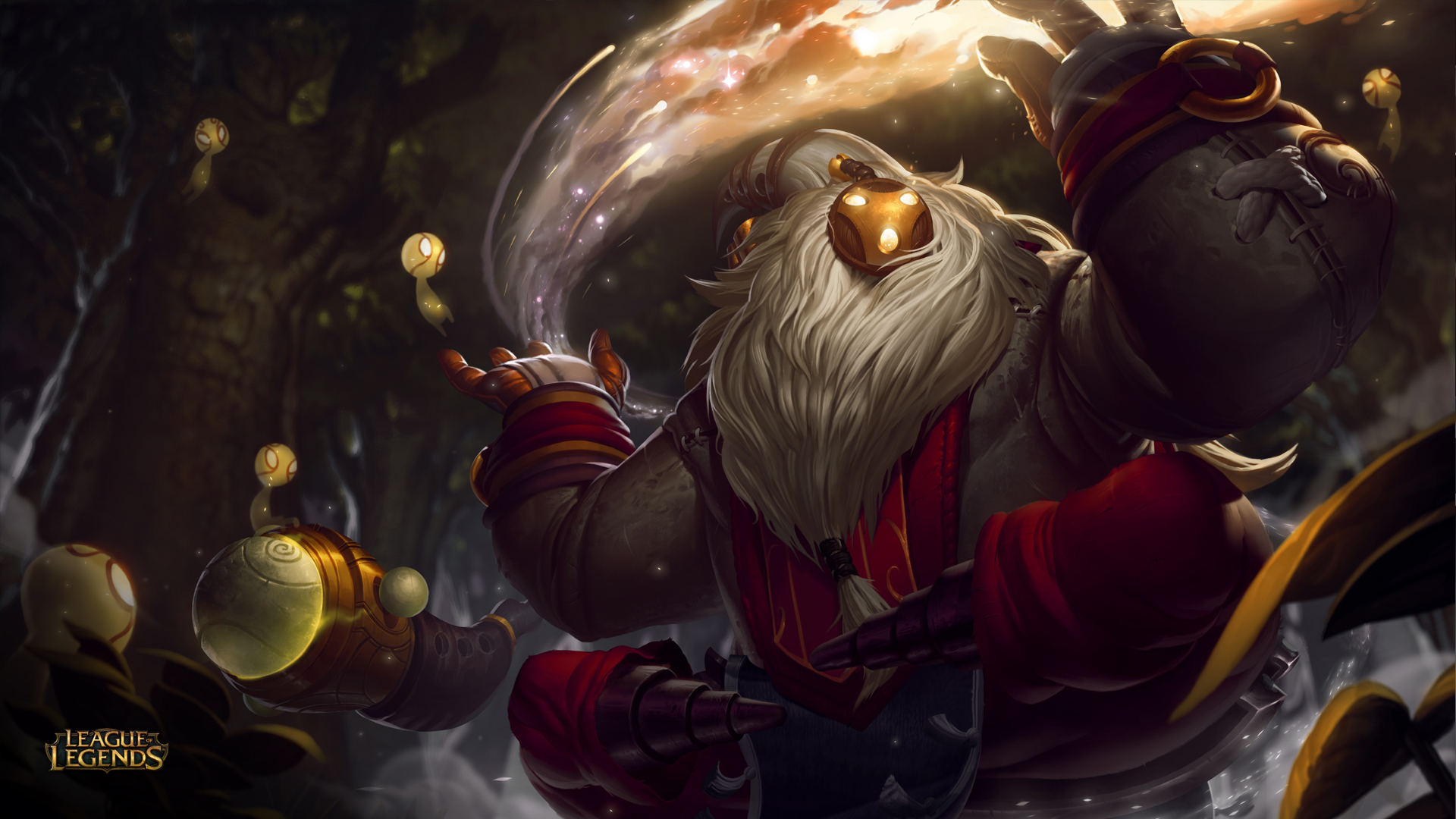 Bard League Of Legends Wallpapers HD 1920x1080