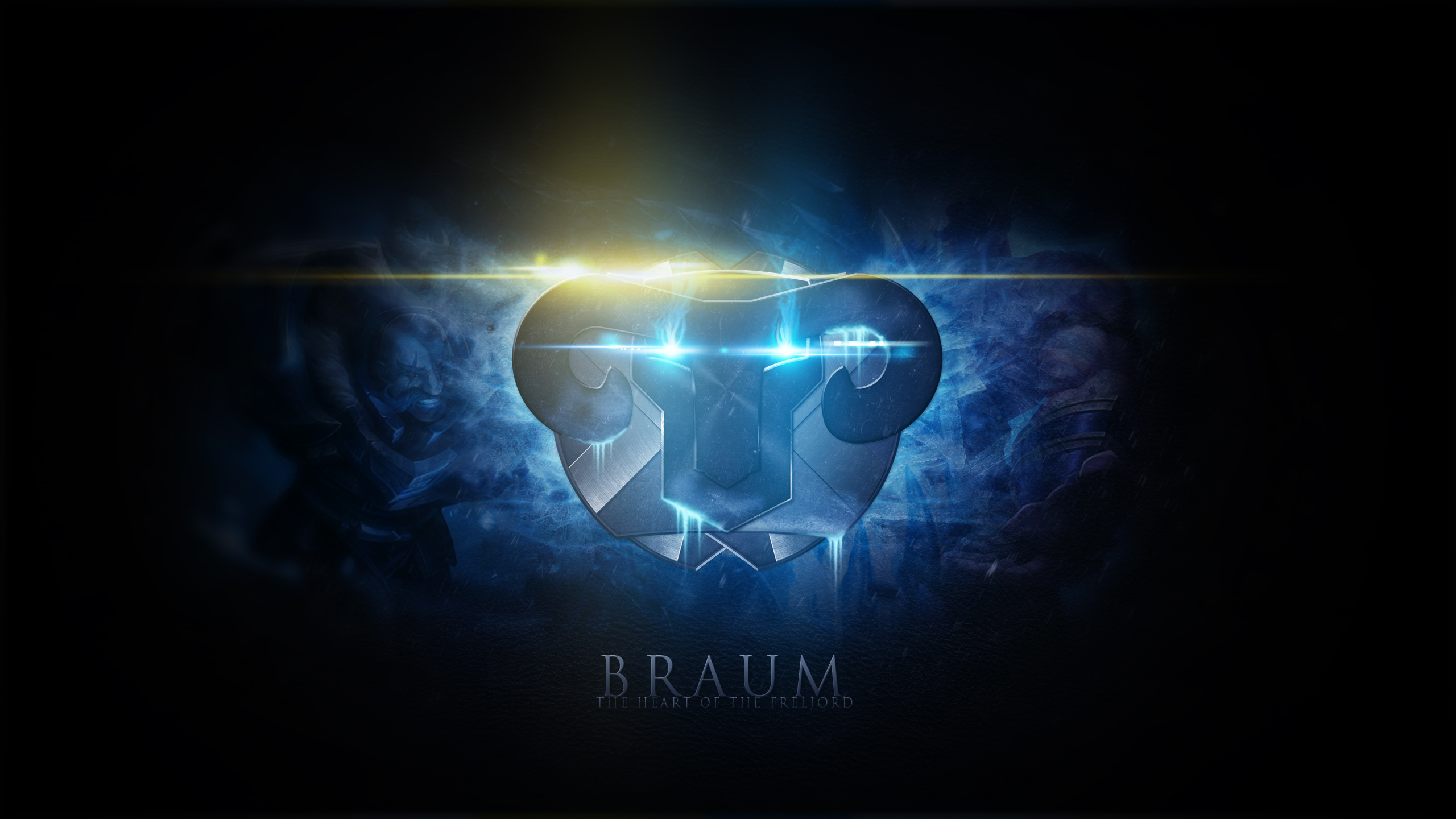 Braum League Of Legends Wallpapers HD 1920x1080