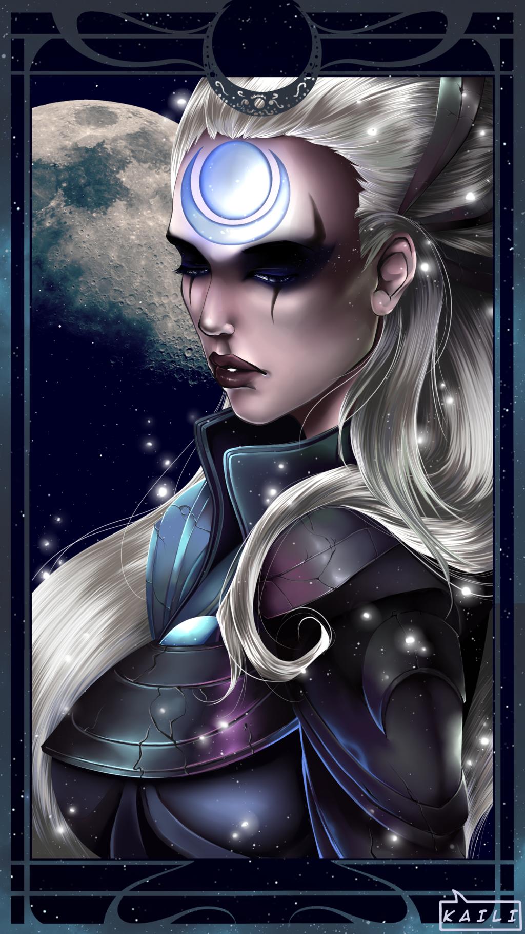 Diana League Of Legends Fan Art 3