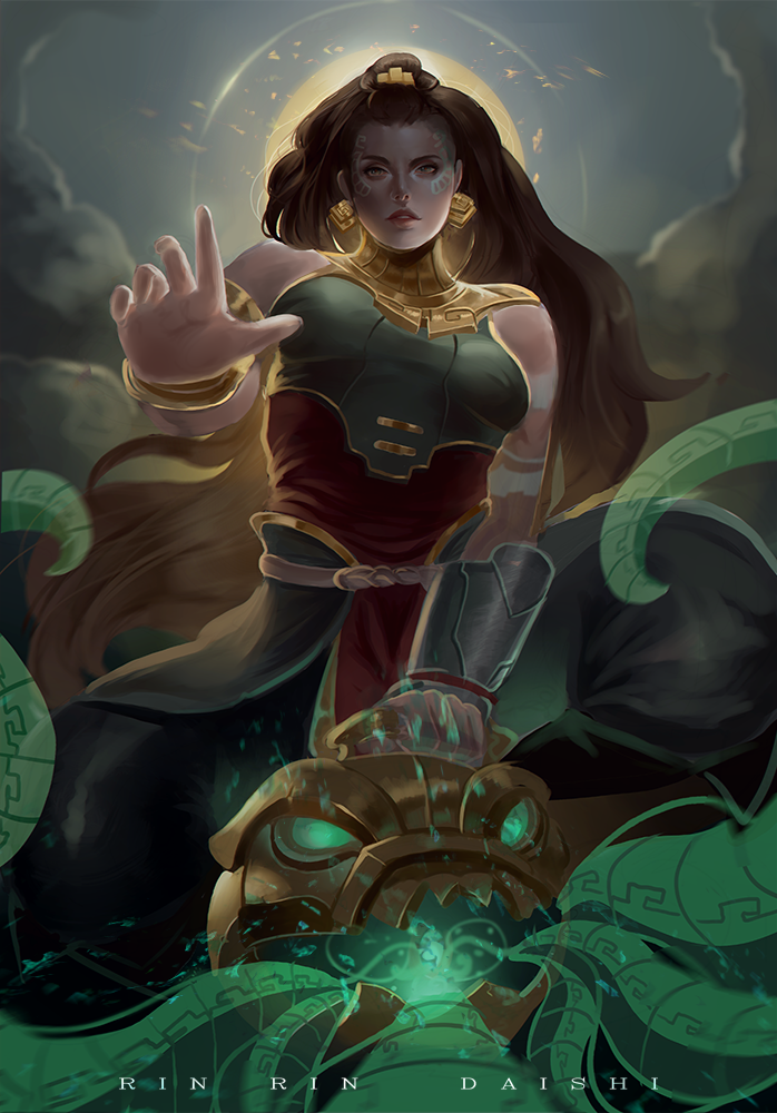 Illaoi League Of Legends Fan Art