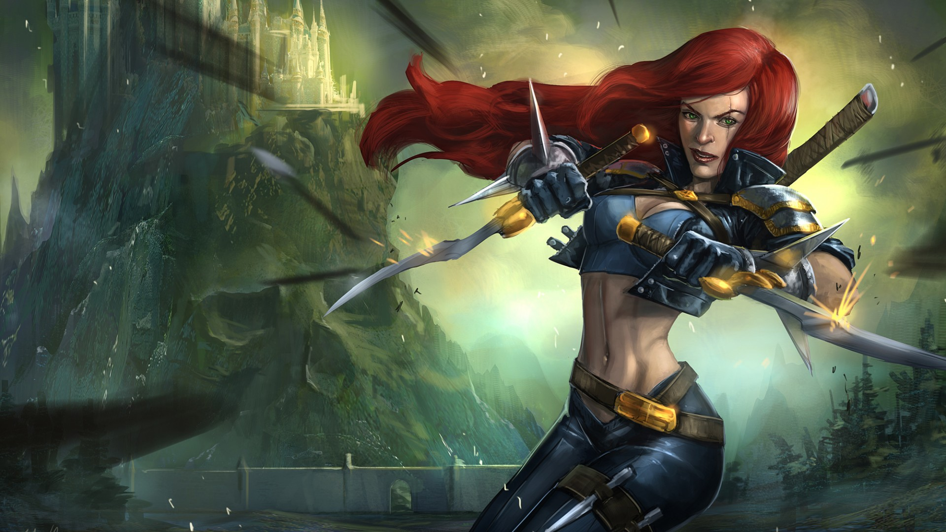 Katarina League Of Legends Wallpaper Hd League Of Legends