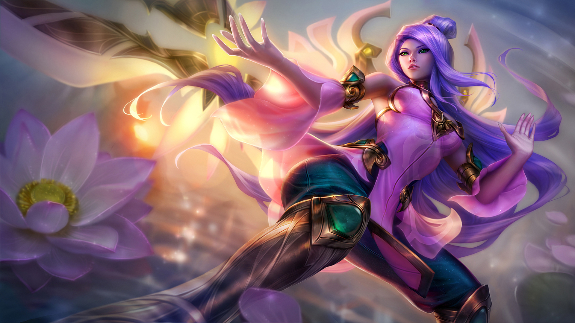Order of the Lotus Irelia League Of Legends Wallpapers HD 1920x1080