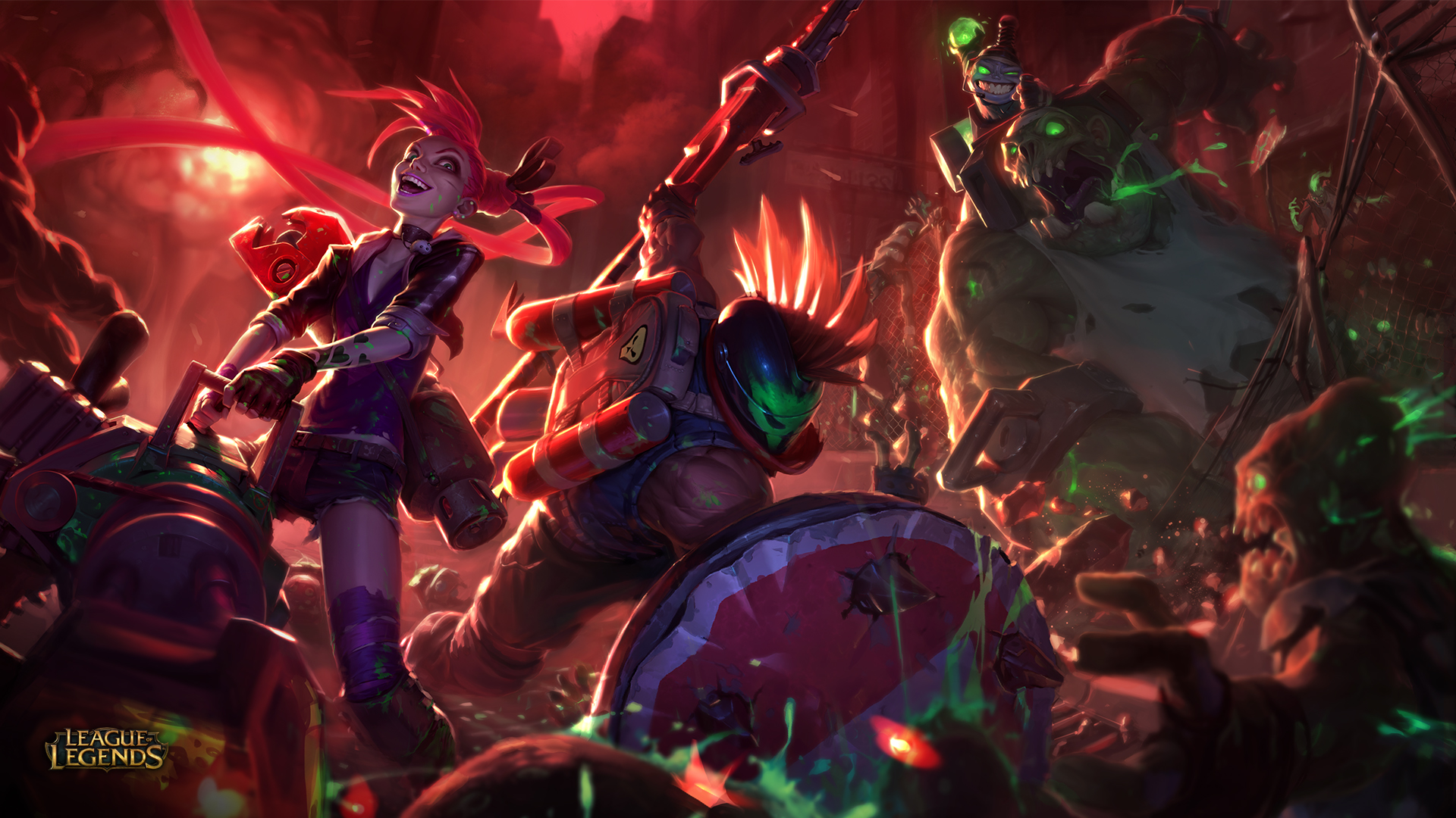 Slayers Skins League Of Legends Wallpapers HD 1920x1080 1