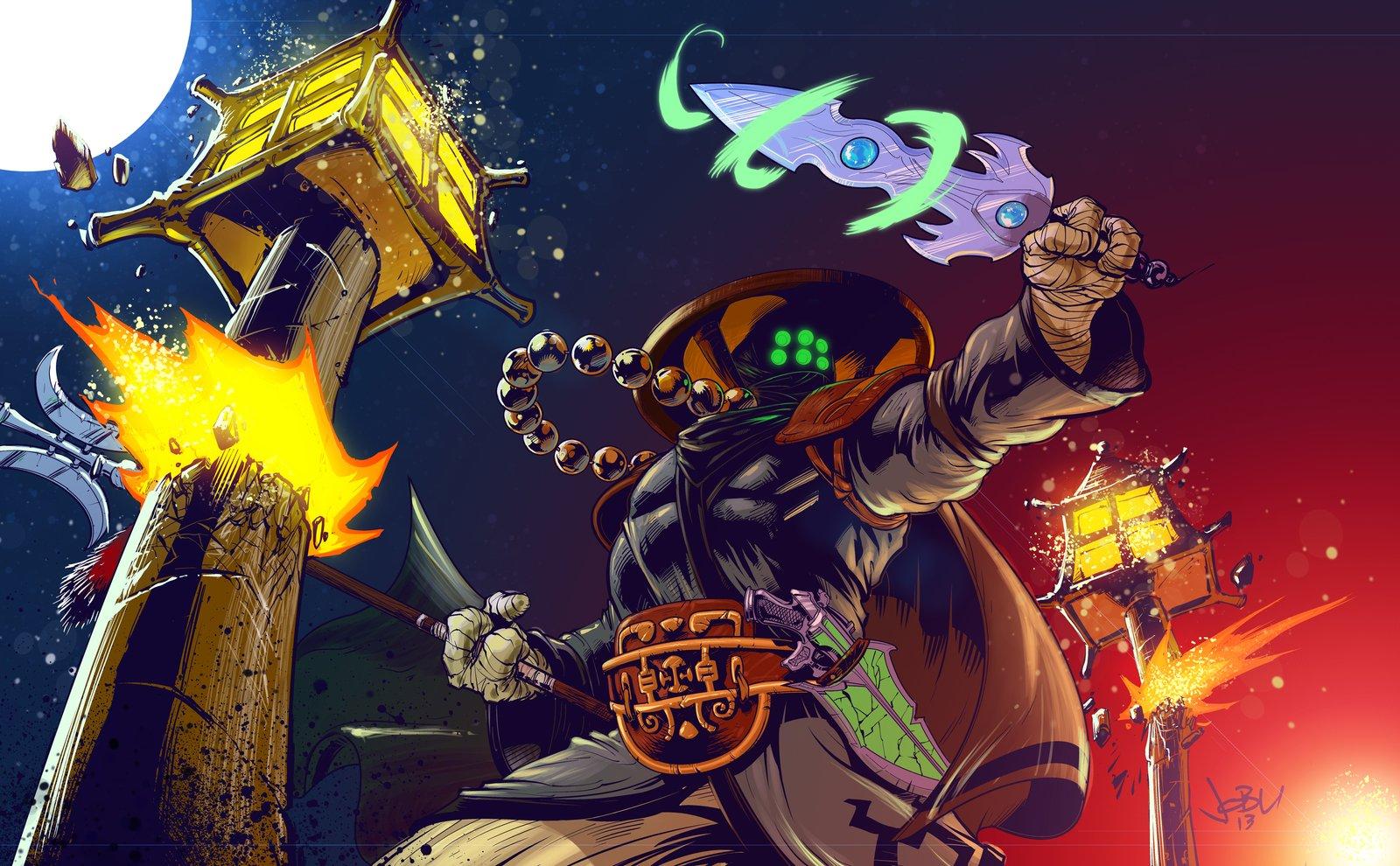 Temple Jax League Of Legends Wallpapers HD