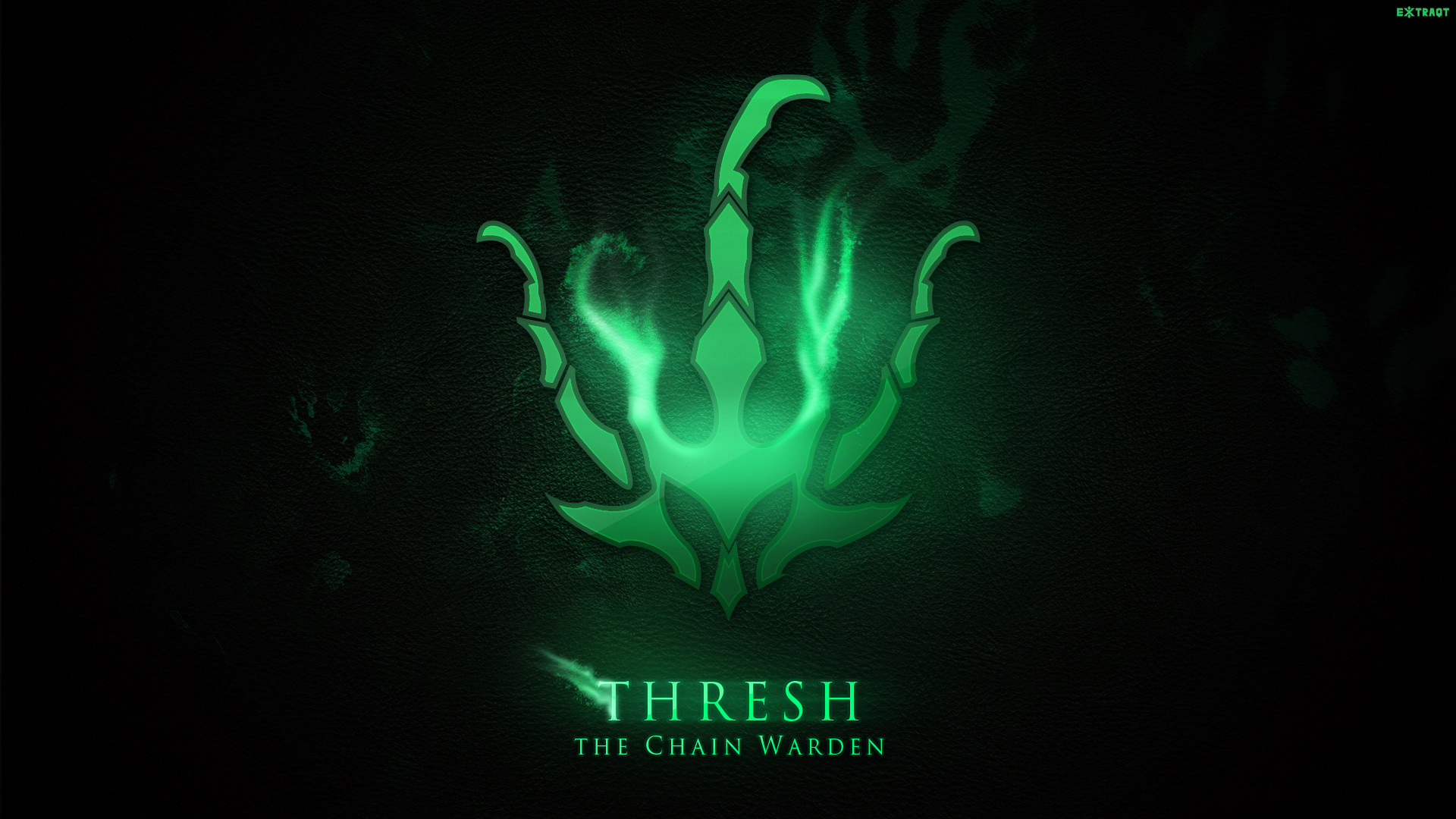 Thresh League Of Legends Wallpapers HD 1920x1080