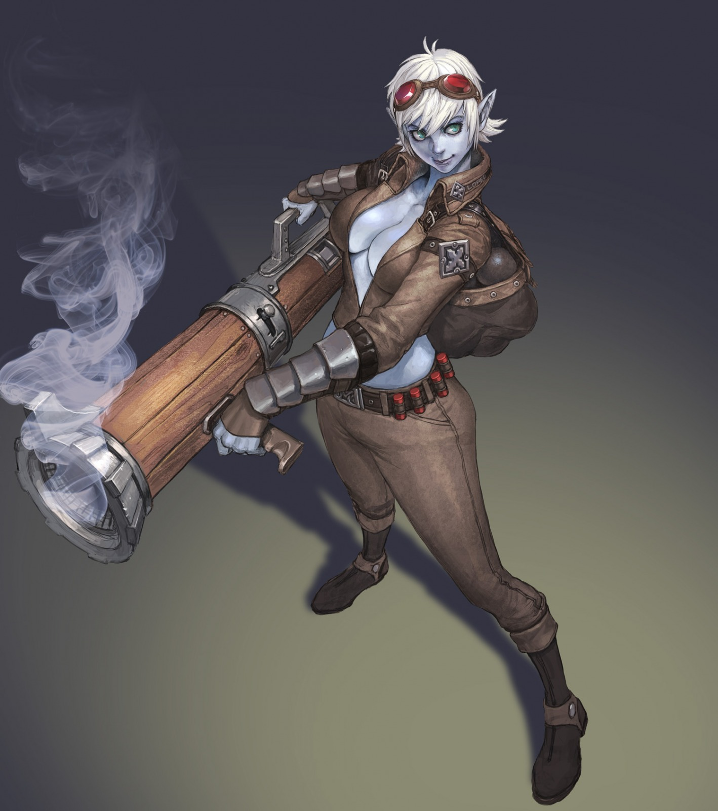 Tristana League Of Legends Fan Art 1