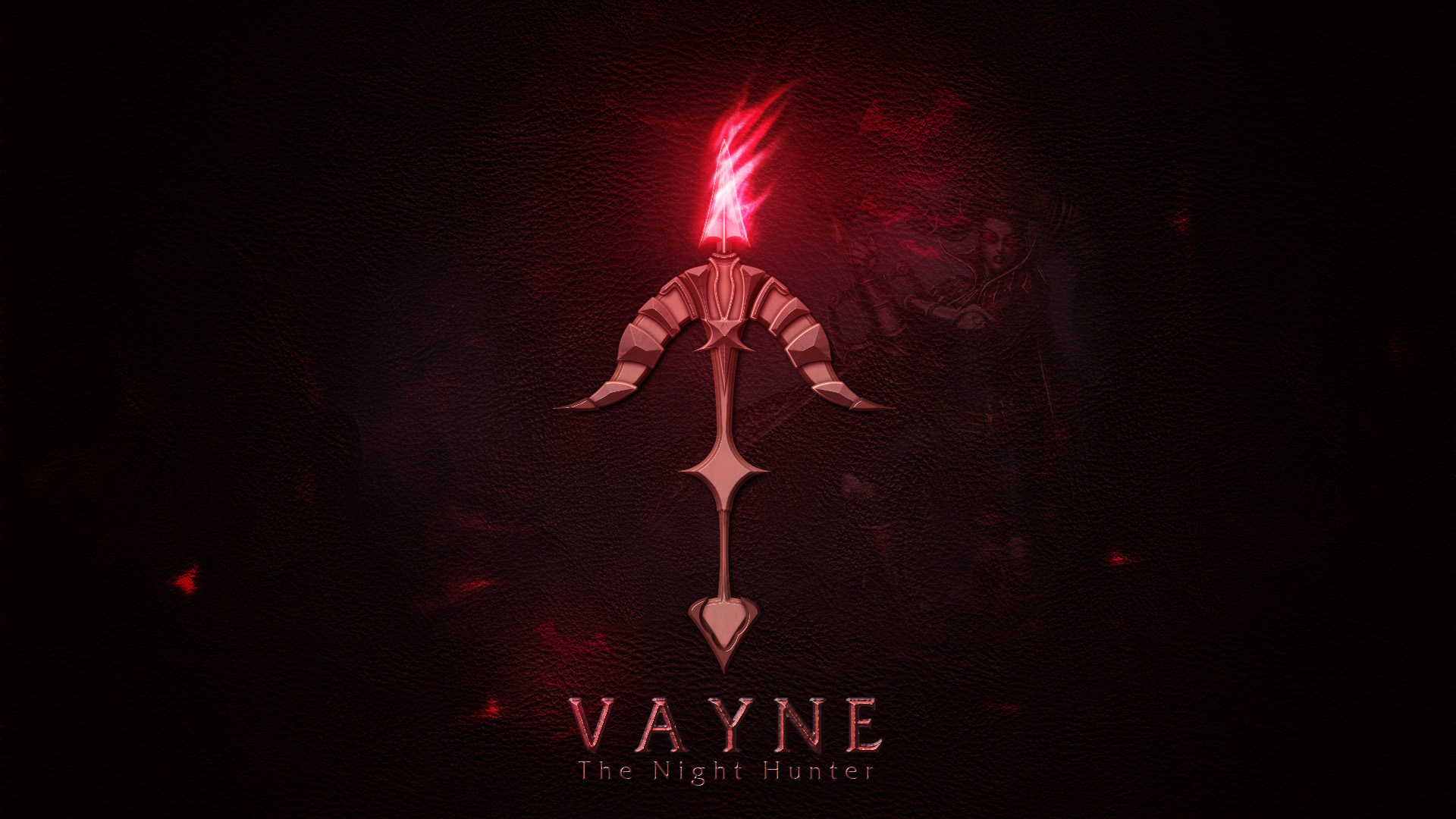 Vayne League Of Legends Wallpapers HD 1920x1080