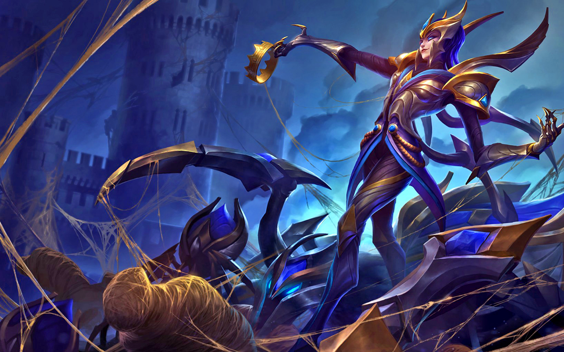 Victorious Elise League Of Legends Wallpapers HD 1920x1200
