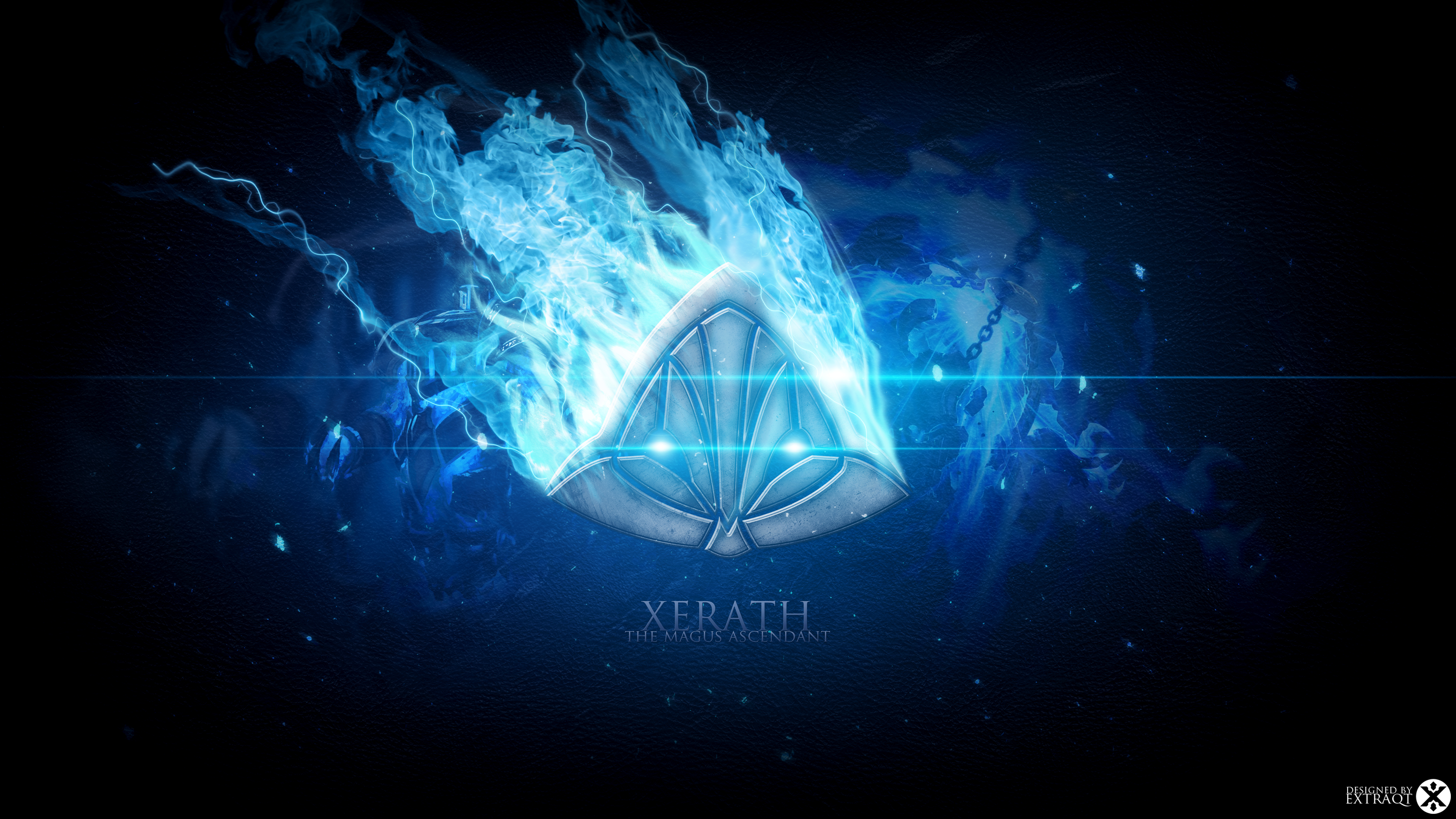 Xerath League Of Legends Wallpapers HD 1920x1080