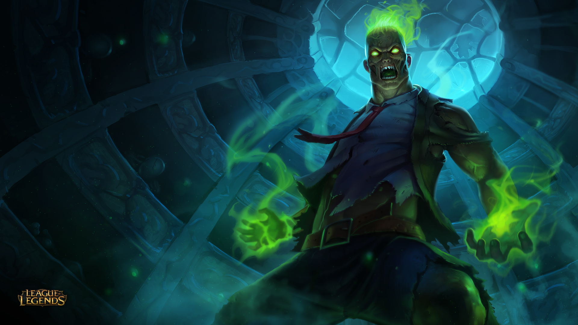 Zombie Brand League Of Legends Wallpapers HD 1920x1080