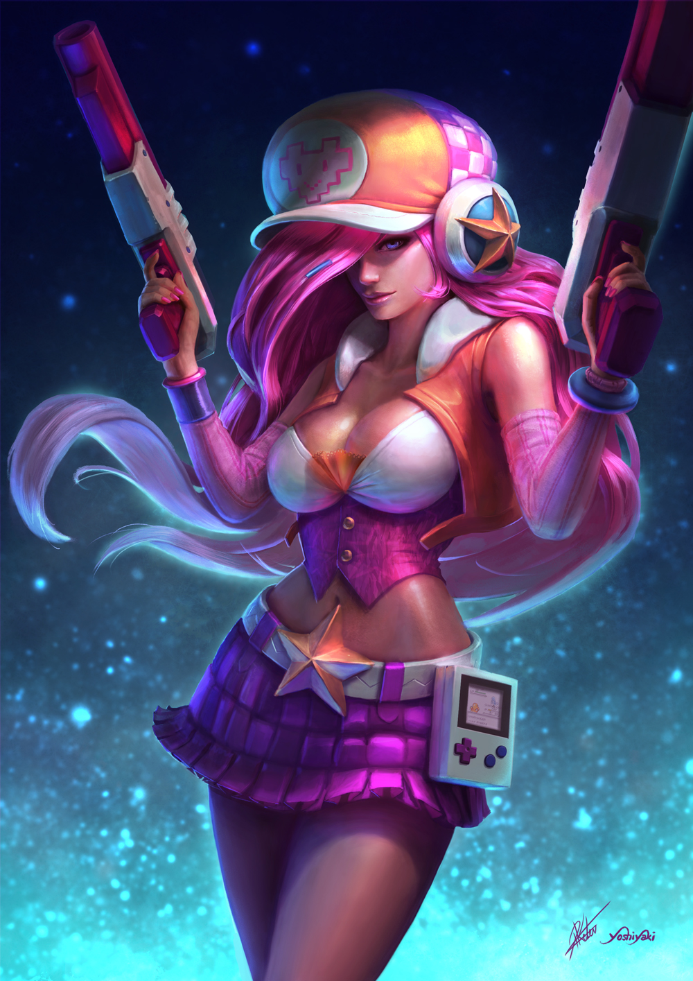 Arcade Miss Fortune League Of Legends Fan Art 1