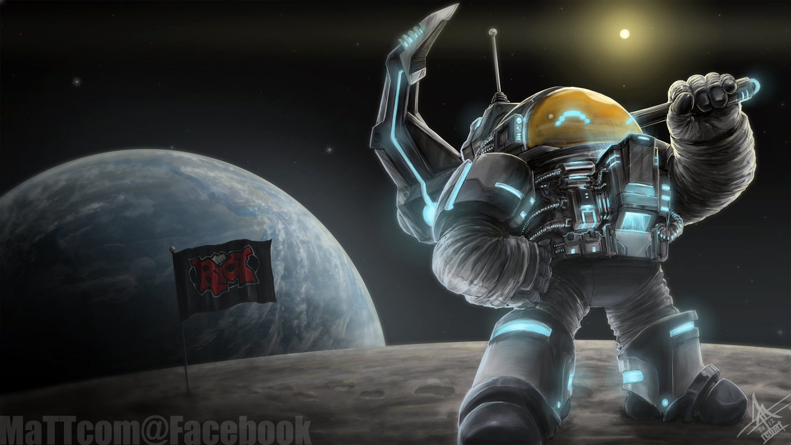 Astronautilus League Of Legends Fan Art